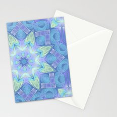 End of Winter Mandala Stationery Cards