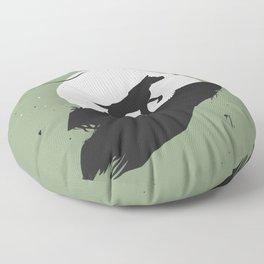 Canine Soul Floor Pillow