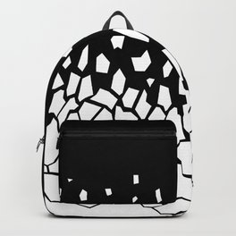 White Fragments Backpack