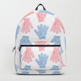 Household gloves pattern Backpack