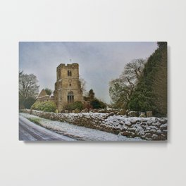St Peter and St Paul East Sutton Metal Print