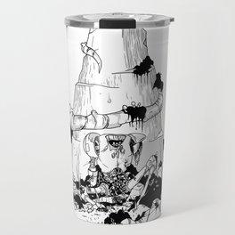 Flores de plastico Travel Mug