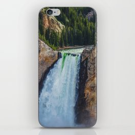 Falls 2, Grand Canyon of the Yellowstone iPhone Skin