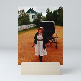 Anne of Green Gables Pulls the Carriage Mini Art Print