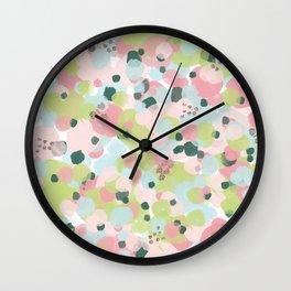 Vintage Cali Kaleidoscope  Wall Clock