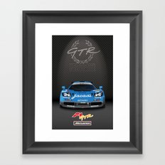 1995 McLaren F1 GTR Le Mans - Jacadi Livery Framed Art Print
