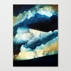 State of isolation Canvas Print