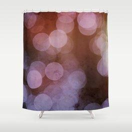 Inner Diva BOKEH Dot Pattern Shower Curtain