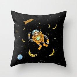 spacechimp Throw Pillow