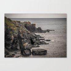 A Rocky End Canvas Print