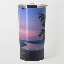 Sunset over Keuka Travel Mug