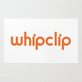 white logo Rug