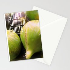 Sweet Summer Fruits (Figs) Stationery Cards