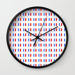 Flag of France - with soft square Wall Clock
