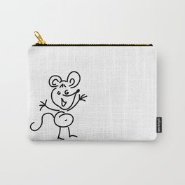 Funny Little Mouse Carry-All Pouch