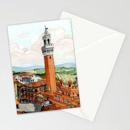 Siena, Italy Stationery Cards
