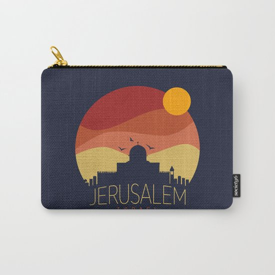 israel  Carry-All Pouch