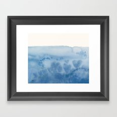 Waves of Love Framed Art Print