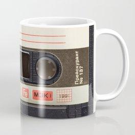 Vintage Music Cassete Coffee Mug