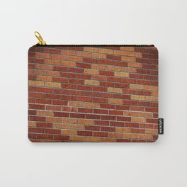 Brick Wall Rorschach Carry-All Pouch
