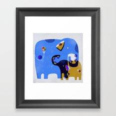 JUGGLING LESSONS Framed Art Print