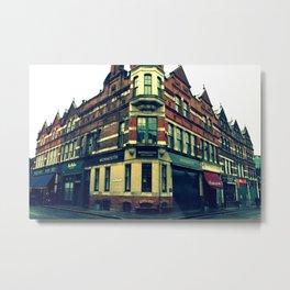 Quiet England Street Metal Print