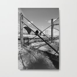 Mill District Metal Print
