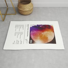 Kid - Man On The Moon: The End Of Day - Album Illustration Rug