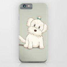 Maltese Dog Illustration Slim Case iPhone 6s