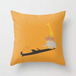 ROARRR Throw Pillow