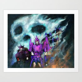 Bad Mechs  Art Print