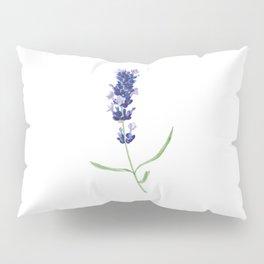 Lavender Flower Pillow Sham
