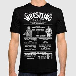 #3-B Memphis Wrestling Window Card T-shirt