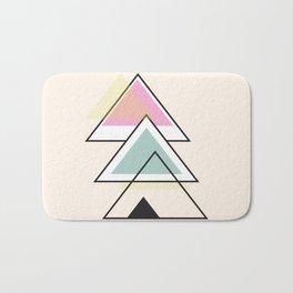 Minimalist Triangle Series 012 Bath Mat