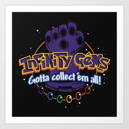 Collect 'em all! Art Print