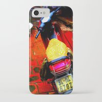 moto iPhone & iPod Cases featuring Moto by Loady