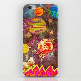 Space trip iPhone Skin