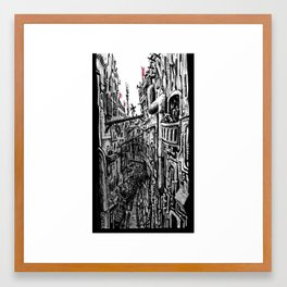 Varenka's Balcony Framed Art Print