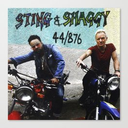 Sting and Shaggy Canvas Print