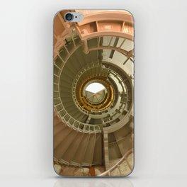 Gray's Harbor Lighthouse Stairwell Spiral Architecture Washington Nautical Coastal iPhone Skin