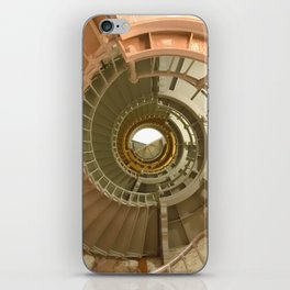 Gray's Harbor Lighthouse Stairwell Spiral Architecture Washington Nautical Coastal iPhone Skin