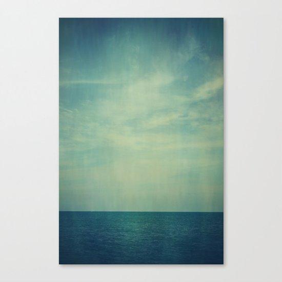 Sky Blue Canvas Print
