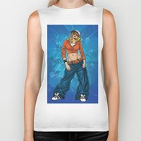 hiphop Biker Tanks featuring HipHop by Don Kuing