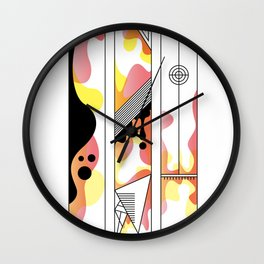 w typo Wall Clock