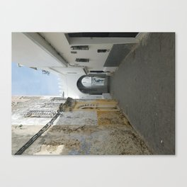 Streets of Tangier Canvas Print