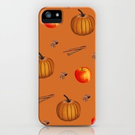 Fall Spice iPhone Case