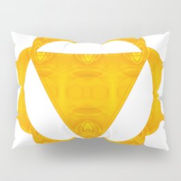 Energy Center Abstract Chakra Artwork Pillow Sham