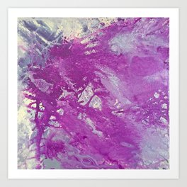 Chlorine & Wine Art Print