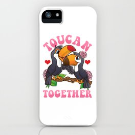 Toucan Make It Together Cute & Funny Bird Pun iPhone Case