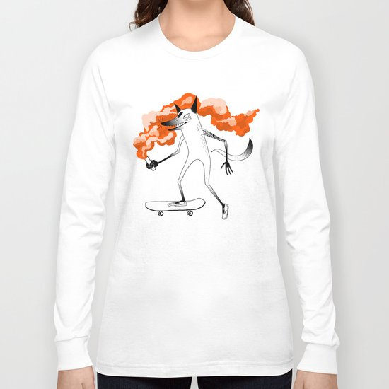 Fox Skateboarder2 Long Sleeve T-shirt